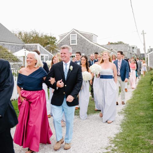 design darling walk between church and reception