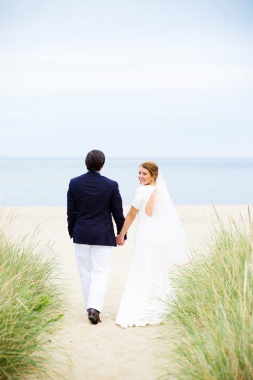design darling wedding photos on sconset beach