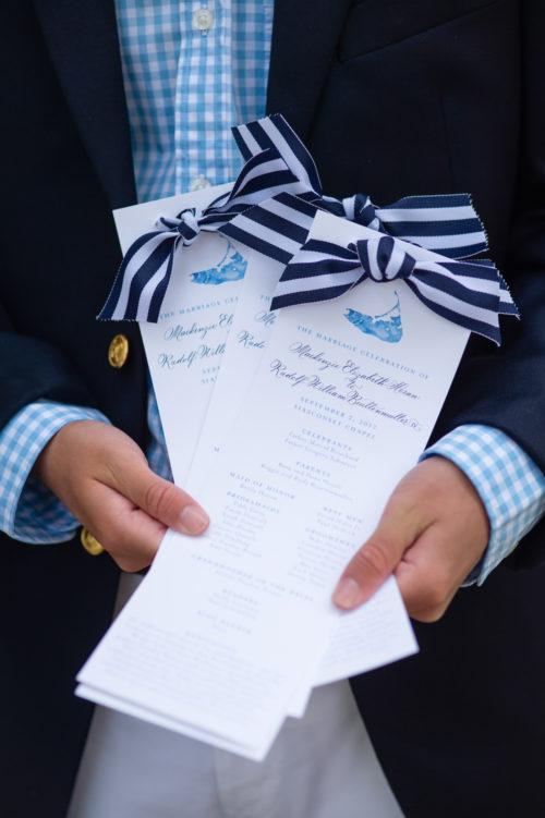 design darling wedding programs