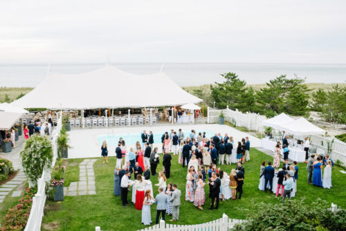 design darling wedding tent at summer house nantucket
