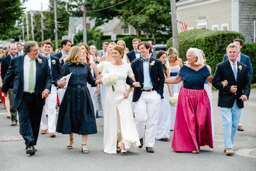 sarah seven sullivan gown and ch carolina herrera mother of the bride gown