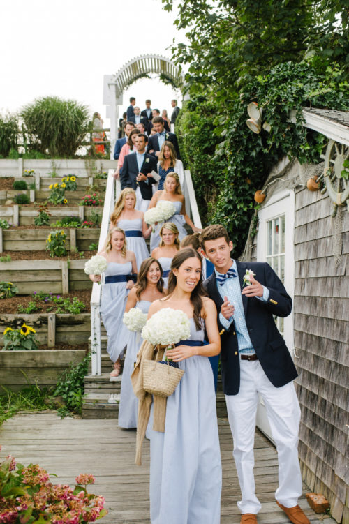 summer house wedding nantucket