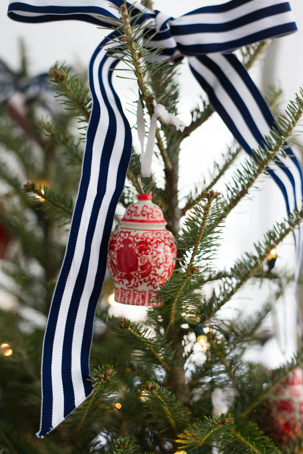 Williams Sonoma Ginger Jar Ornaments Design Darling