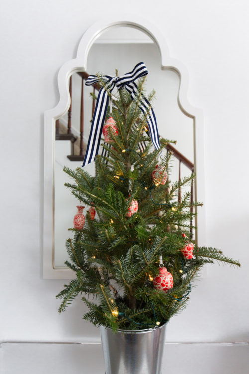 williams-sonoma mini christmas tree