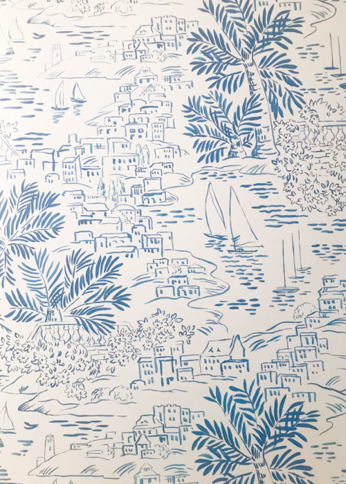 ralph lauren home homeport novelty marine wallpaper at met on main nantucket
