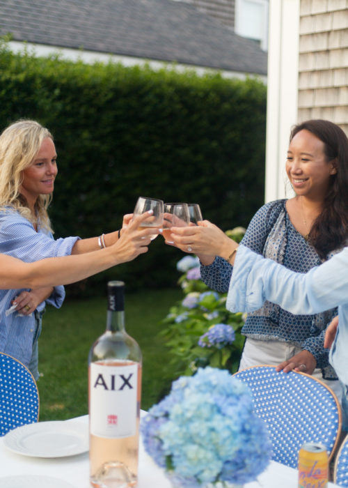 nantucket dinner party on design darling