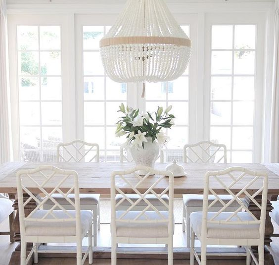 Ballard Designs Dayna Side Chairs In Dining Room