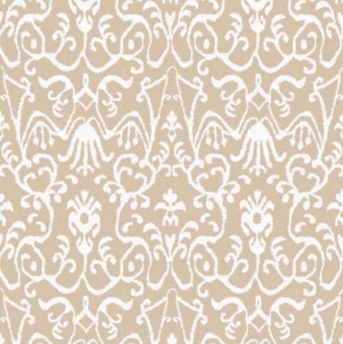 lucette ikat floral peel and stick wallpaper