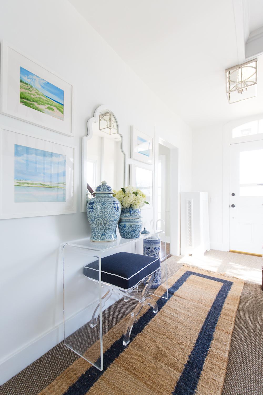 serena & lily jute border rug in design darling foyer