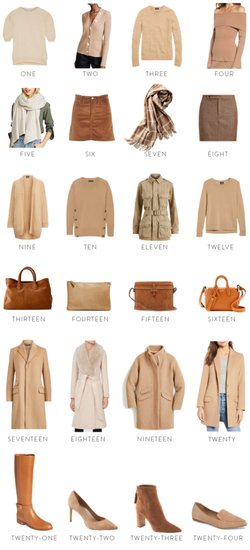 design darling camel finds for fall