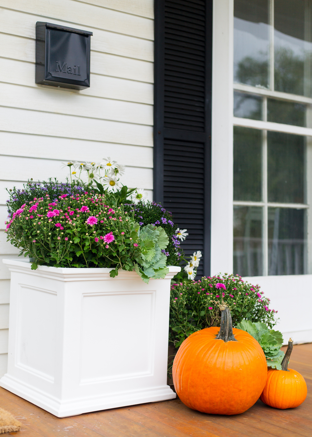 fall porch decor on design darling