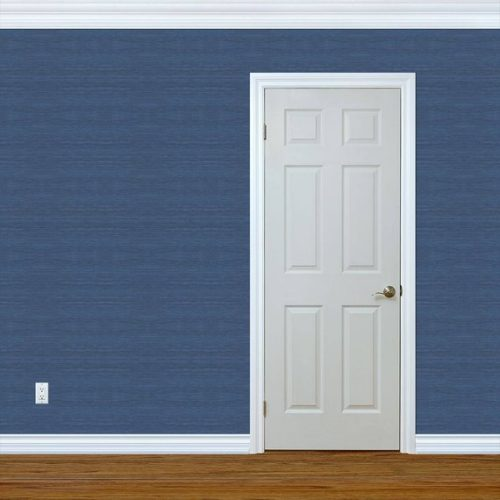 navy grasscloth peel and stick wallpaper