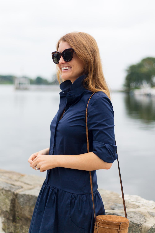 3ef941ff1de the shirt by rochelle behrens drop waist shirt dress - Design Darling