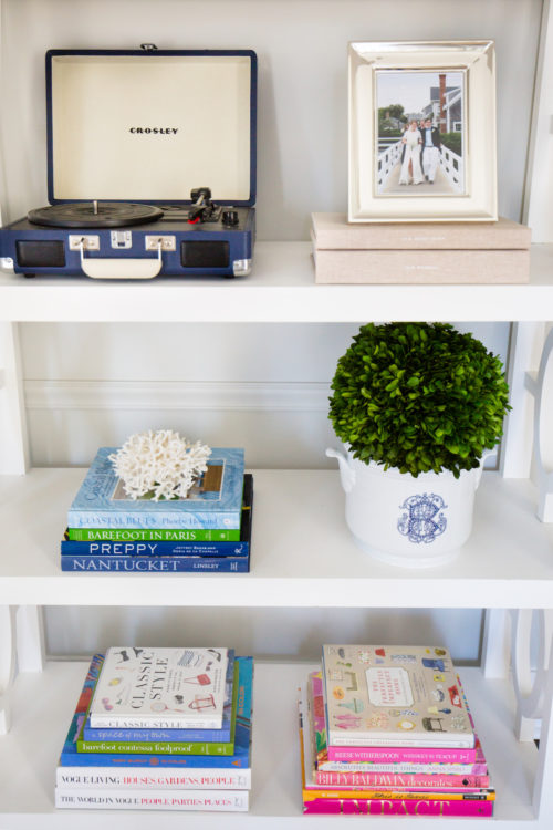 boxwood ball in sasha nicholas champagne bucket in design darling dining room