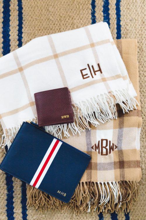 mark & graham monogrammed gifts on design darling
