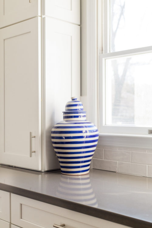 emilia ceramics blue stripe tibor ginger jar in design darling kitchen