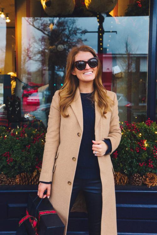 polo ralph lauren wool-blend chesterfield coat on design darling