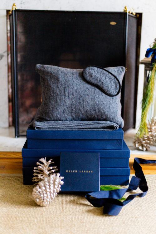 ralph lauren cabled cashmere travel set on design darling