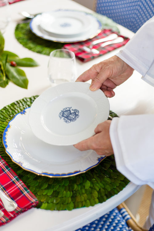 sasha nicholas weave salad plates