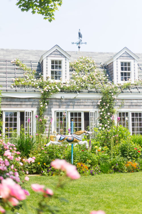 Nantucket Print Shop Chanticleer Carousel Horse