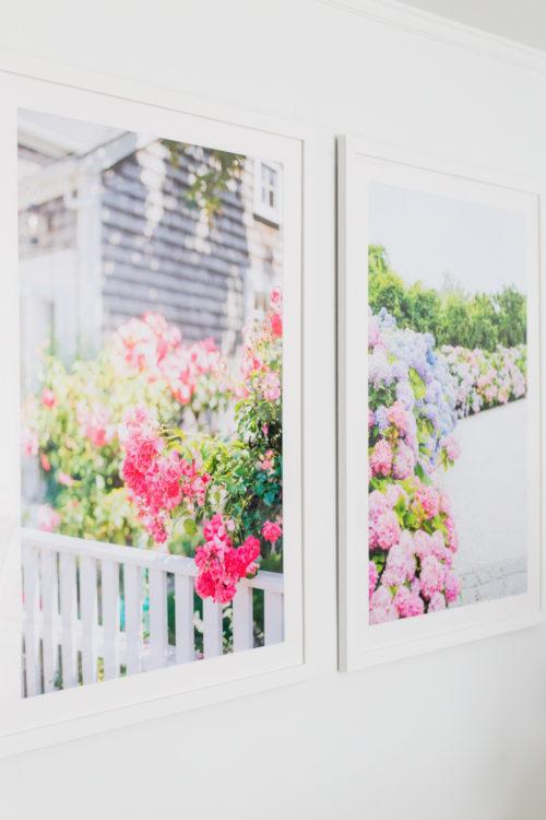 Nantucket Print Shop large frame