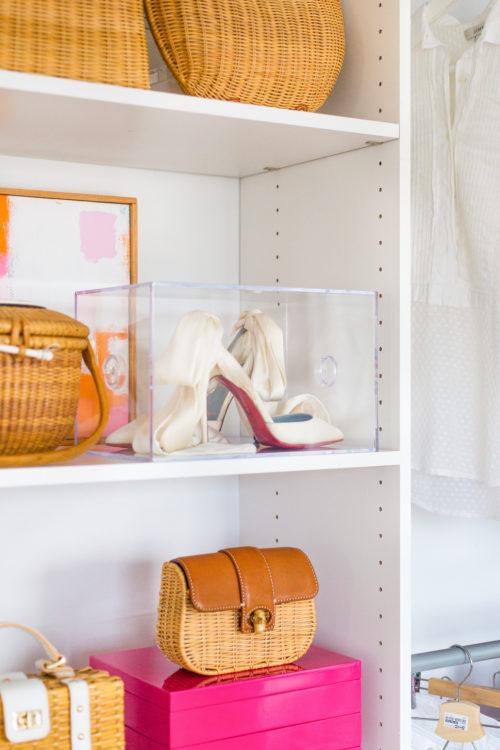 design darling wedding shoes in acrylic box copy