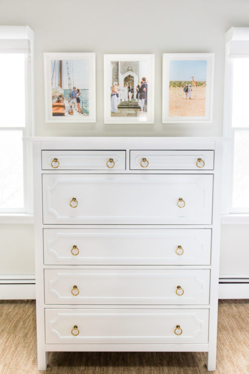 ikea hemnes dresser before and after