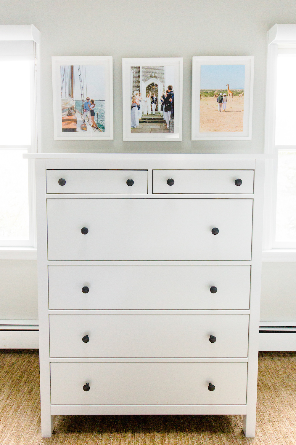 ikea hemnes dresser hack before and after design darling. Black Bedroom Furniture Sets. Home Design Ideas