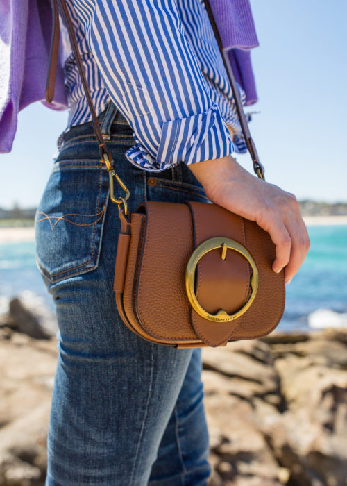 ralph lauren leather mini lennox bag on design darling