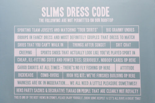 slim's sydney dress code on design darling