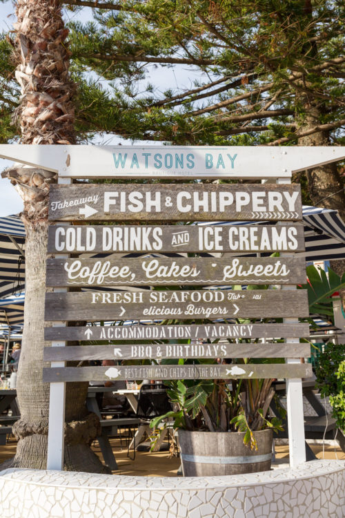 watsons bay beach club on design darling