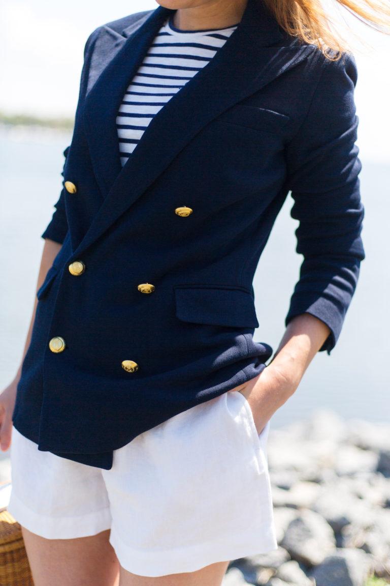 Polo Blazer Ralph Breasted Lauren Double Navy Knit In 768x1152 kPZuXiOT