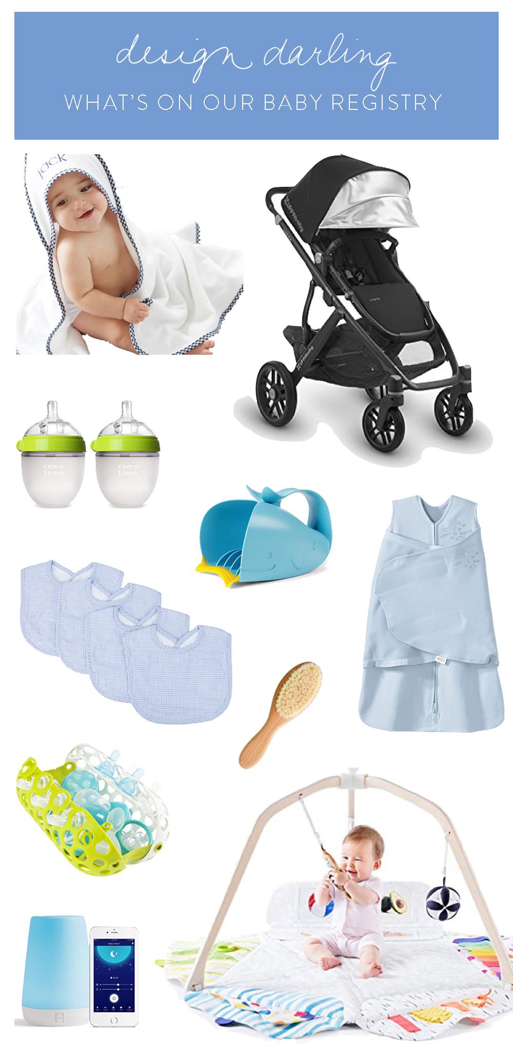 design darling baby registry