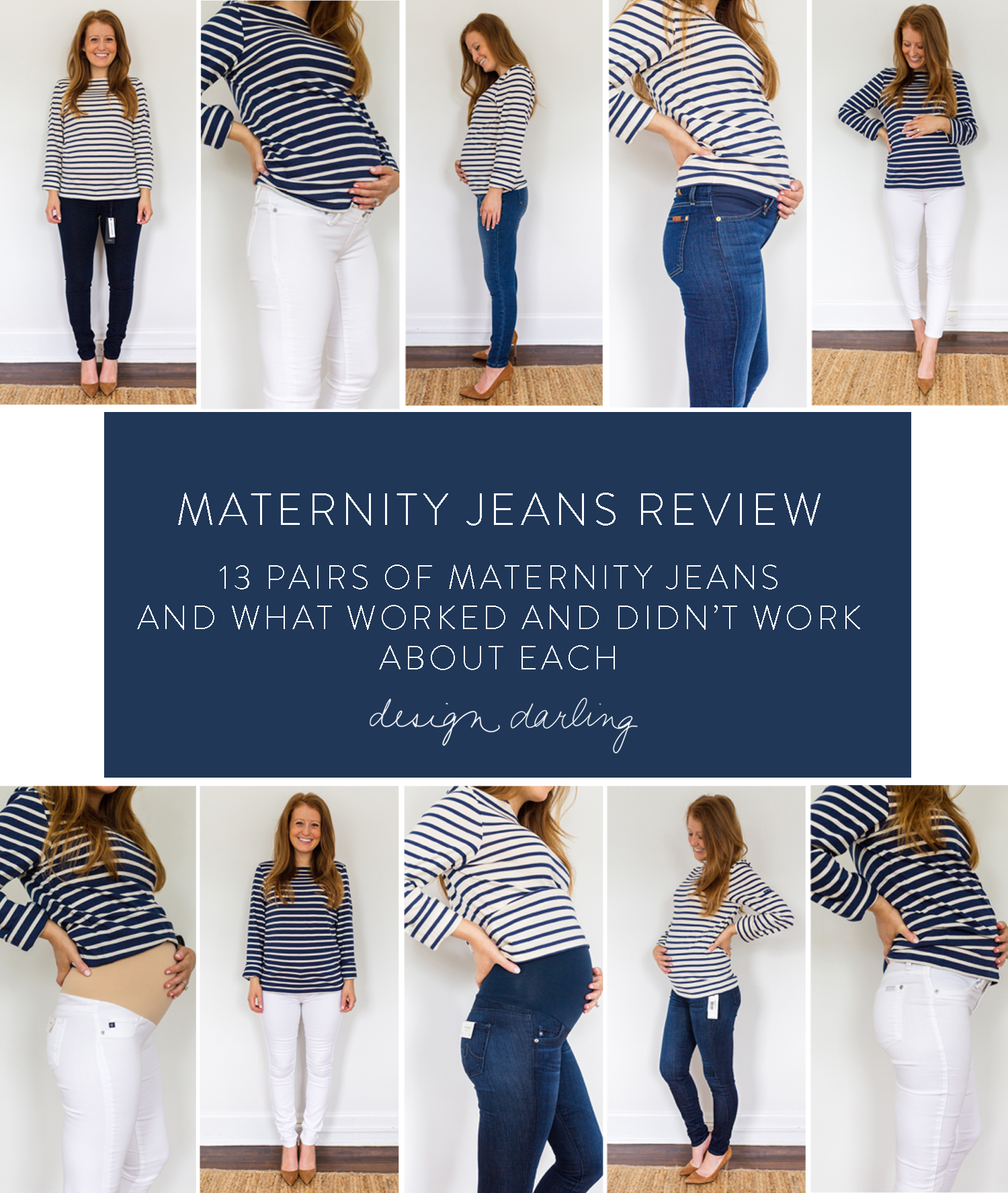 5eb5f0ee9e5d0b MATERNITY JEANS REVIEW: 13 PAIRS OF MATERNITY JEANS AND WHAT WORKED AND  DIDN'T WORK ABOUT EACH
