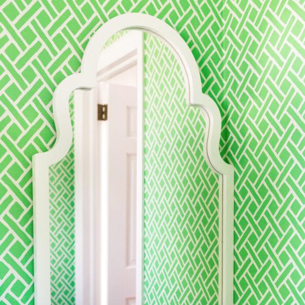 one kings lane myrna 24x40 wall mirror white