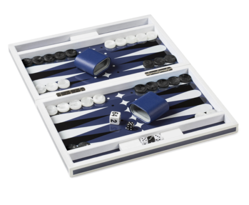 lacquer backgammon set 28 centre pointe nantucket