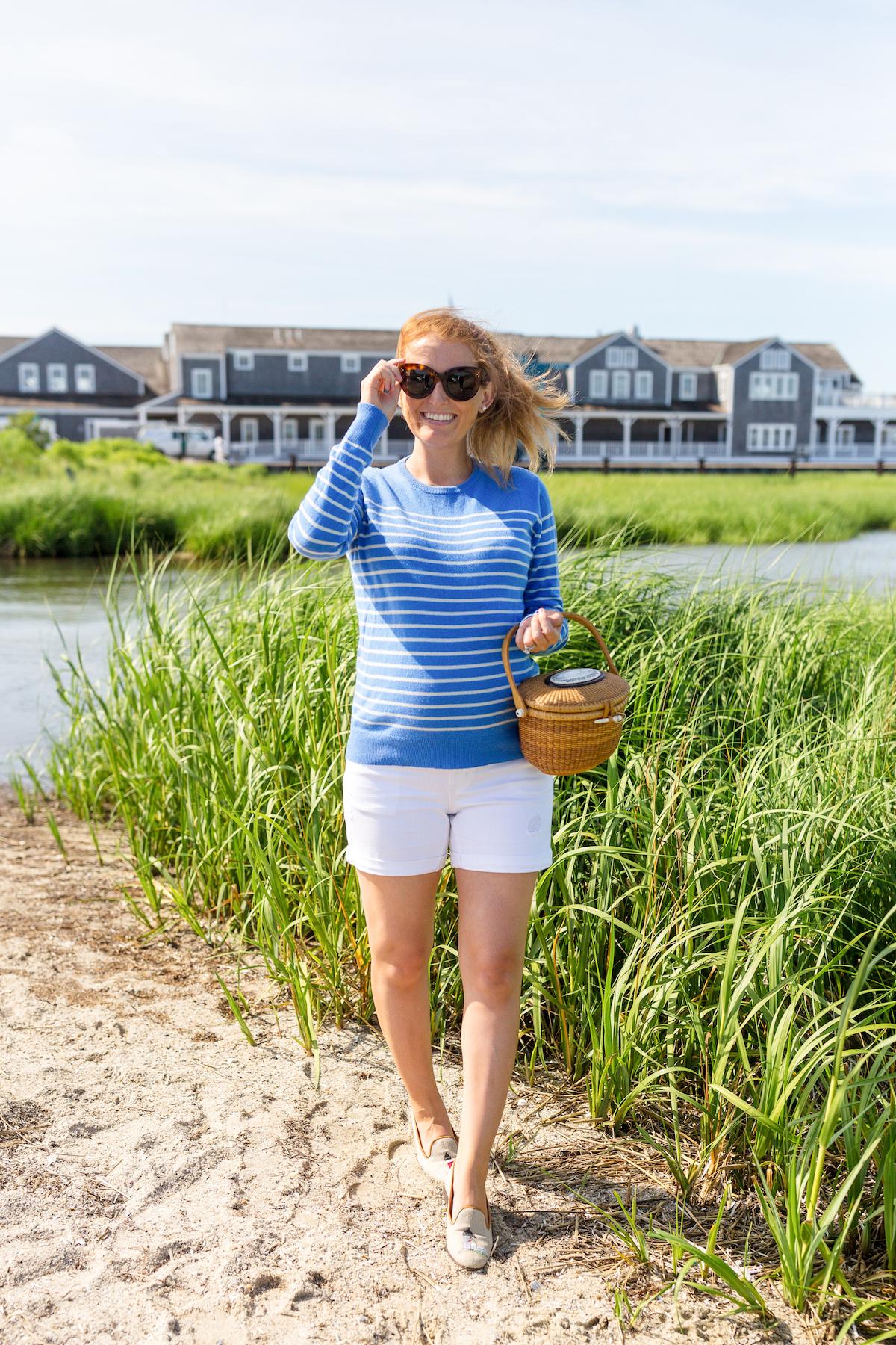 design darling white denim maternity shorts