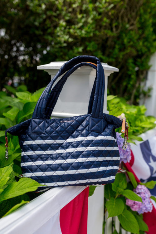 mz wallace charter stripe sutton bag