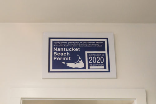 nantucket beach permit art print 28 centre pointe