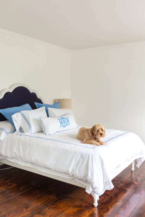 behr ultra pure white in design darling guest bedroom