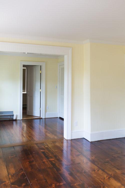 design darling provincial wood stain on wide plank pine floors