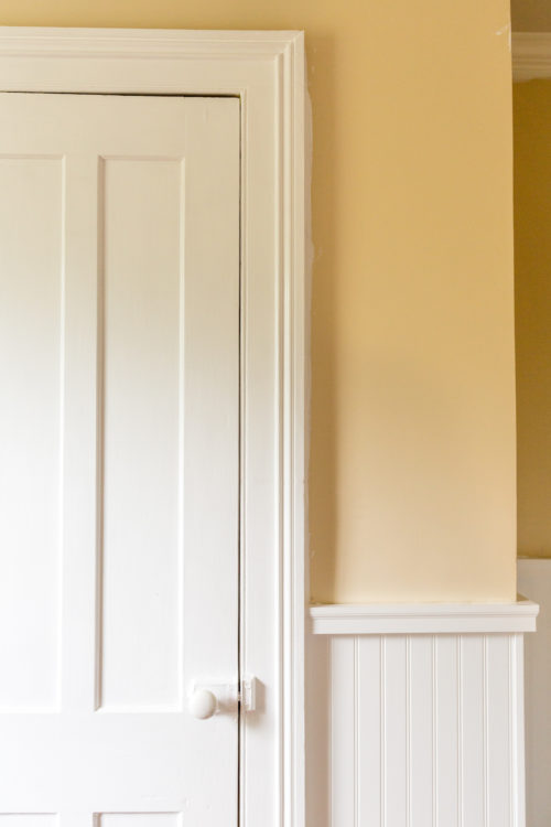 hanging beadboard on plaster walls design darling