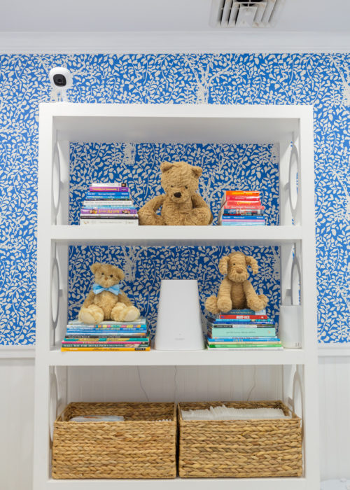 design darling nursery bookshelves