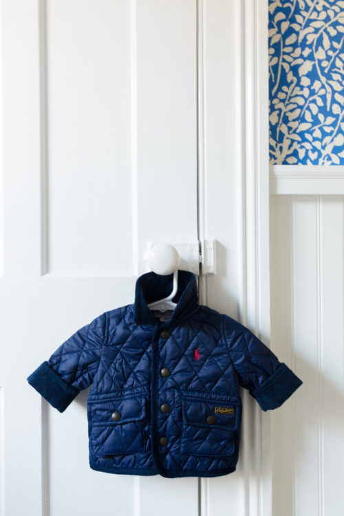 design darling nursery ralph lauren the iconic quilted car coat