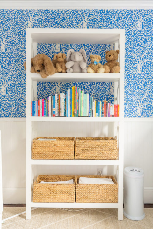 design darling nursery wisteria bookcase