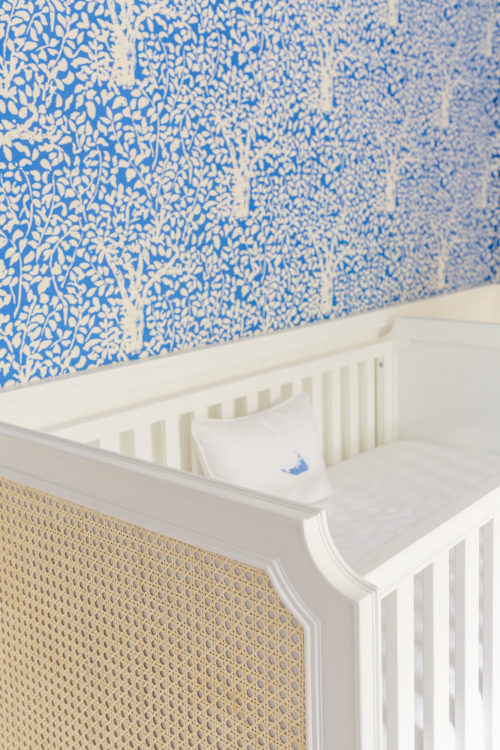 design darling serena & lily harbour cane convertibe crib quadrille arbre de matisse reverse wallpaper china blue