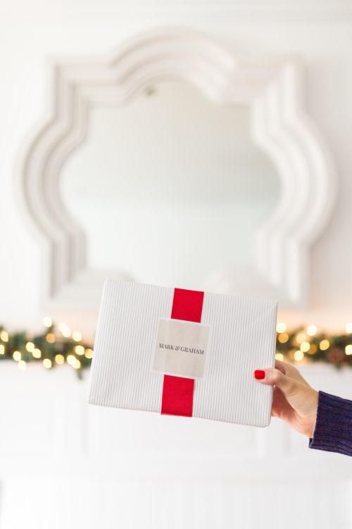 mark & graham gift wrap on design darling