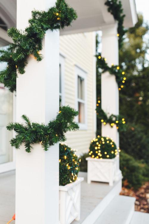 design darling christmas porch decorations