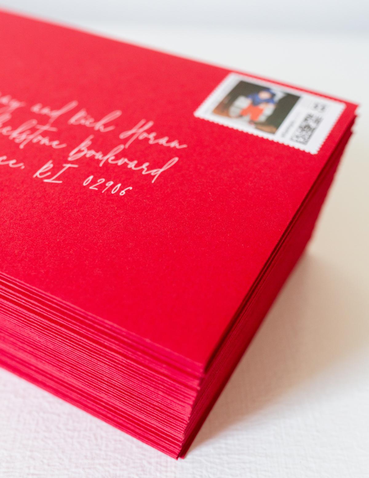 minted red envelopes on design darling