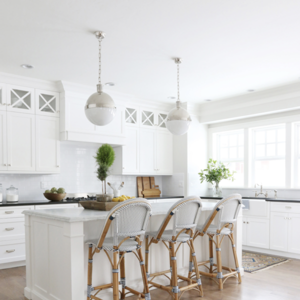 studio mcgee hicks pendant over kitchen island